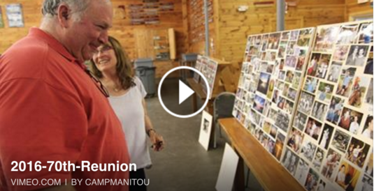 Manitou Alumni - 70th Reunion Weekend Video