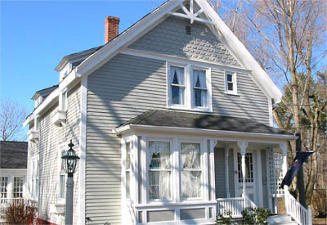The James Place Inn in Freeport, Maine