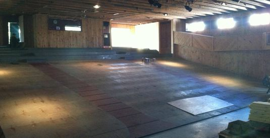 Theater Renovations Underway for the 2014 Summer