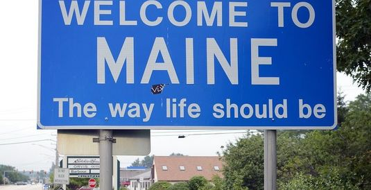Visiting Day in Maine