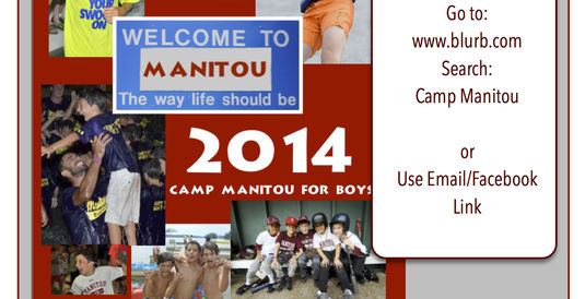 The 2014 Manitou Yearbook is on Sale!