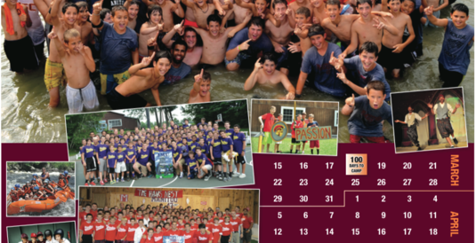 In Your Mailbox: 2015 Countdown to Camp Calendar & 2014 Summer Highlights DVD