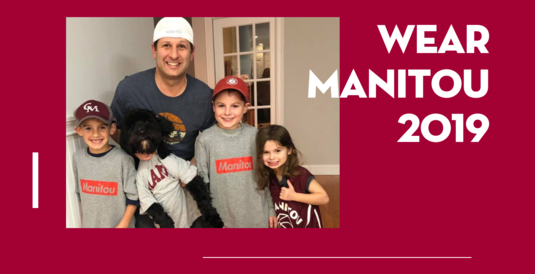 Save the Date: November 12 is Wear Manitou Day